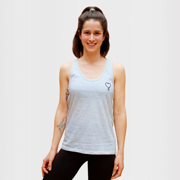 SHIVA LOVES YOU TANK - Erdenkind -Yoga Top aus 100% Biobaumwolle
