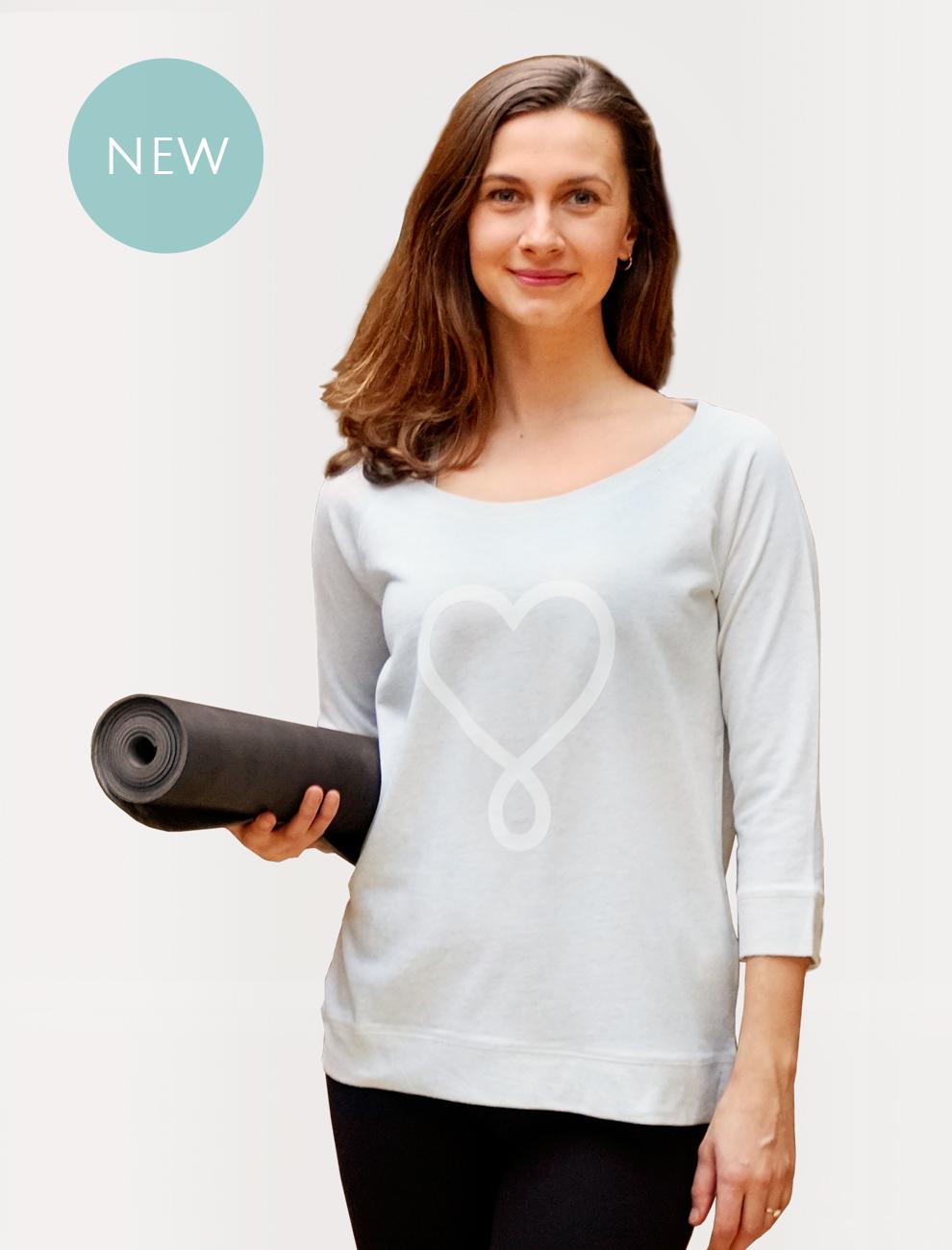 Erdenkind LOVE Sweater - Nachhaltig prozierte Yoga Bekleidung