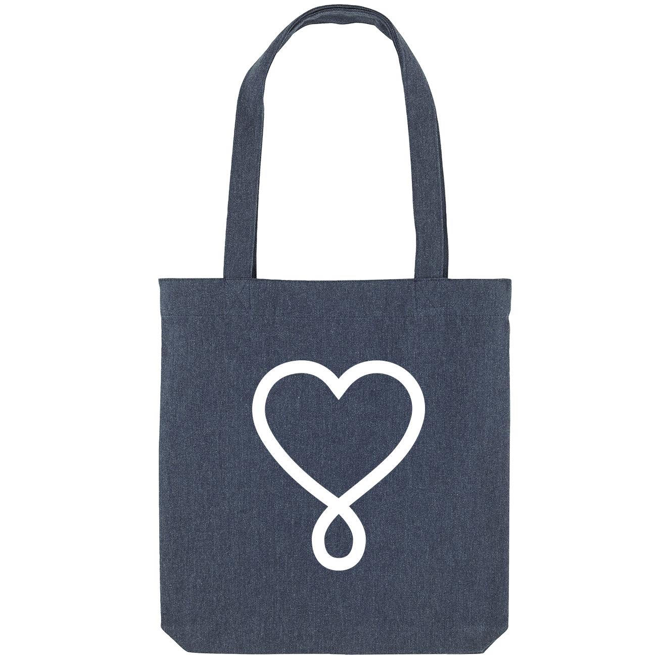 High vibe Love Tote, perfekt für deine Yoga Klamotten, Einkäufe oder auch das Strandhandtuch!